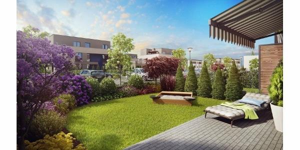Projektowanie ogrodów Poznań - przykład realizacji