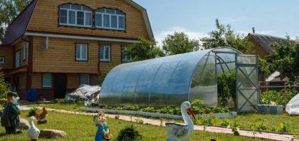 Szklarnia ogrodowa z poliwęglanu